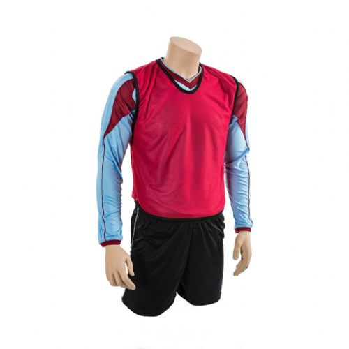 Mesh Training Bib (Youth, Adult) - Red